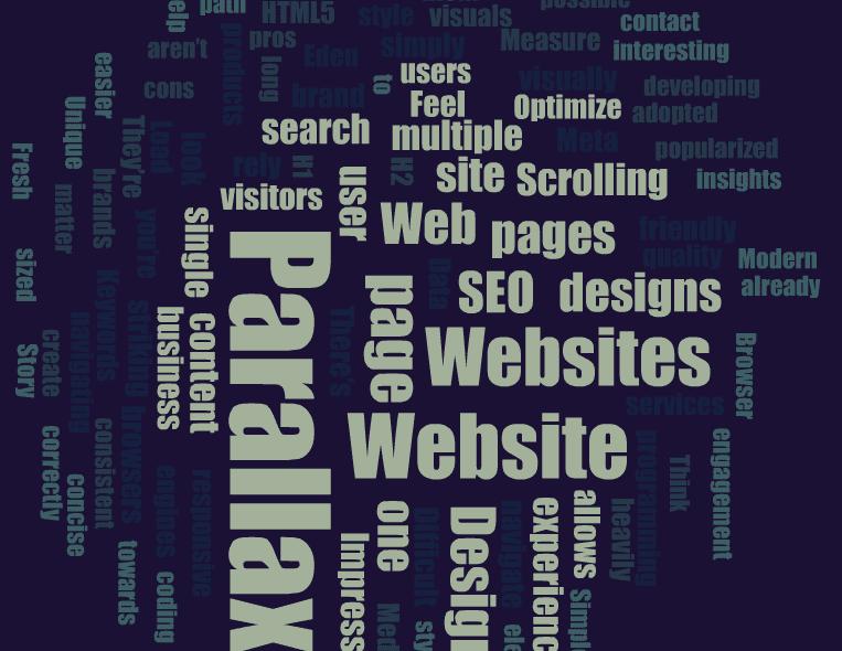 parallax-website-design-word-cloud