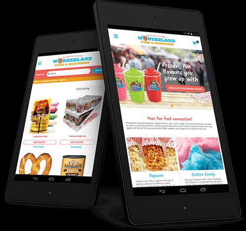 wonderland-food-website-design
