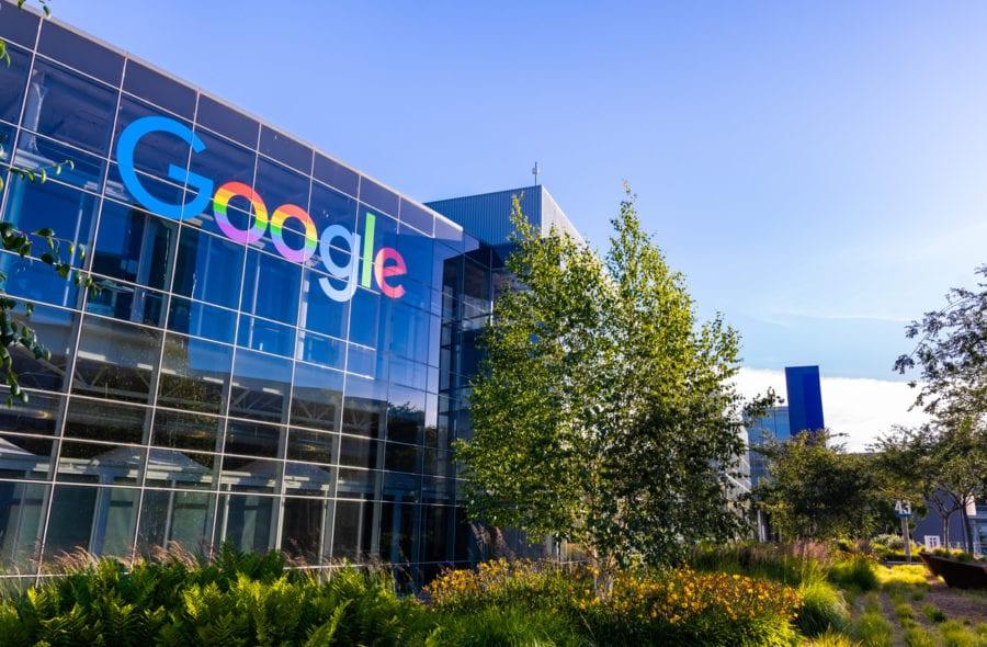 Google office building